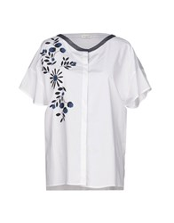 Rosso35 Shirts White
