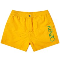 Kenzo Logo Swim Short Orange