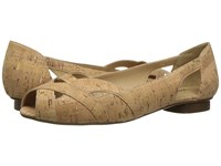 Vaneli Andie Natural Cork Women's Flat Shoes Neutral