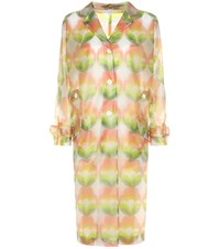 Miu Miu Printed Raincoat Multicoloured