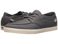 Reef Deck Hand 2 White Charcoal Men's Lace Up Casual Shoes