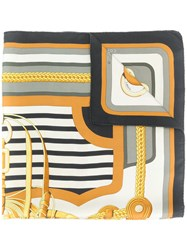 Hermes Vintage 1976 Coaching Scarf Multicolour