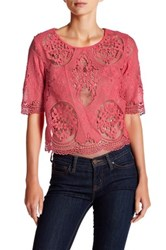 Tart Louisa Lace Blouse Pink