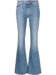 Msgm Flared Style Jeans Blue