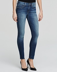 Genetic Denim Genetic Jeans Daphne Mid Rise Crop In Orion