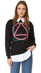 Mcq By Alexander Mcqueen Classic Sweatshirt Darkest Black