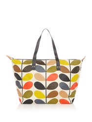 Orla Kiely Zip Shopper Multi Coloured Multi Coloured