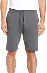 Tasc Performance Legacy Ii Semi Fitted Knit Gym Shorts Black Heather