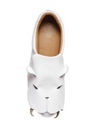 Vivienne Westwood Tiger Suede Slip On Sneakers