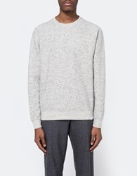 Norse Projects Ketel Melange Double Face Grey Melange
