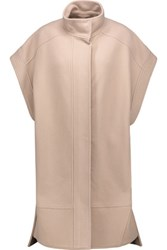 Emilio Pucci Wool And Cashmere Blend Coat Neutral