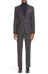 Givenchy Men's Extra Trim Fit Textured Wool Suit