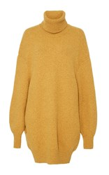 Adam By Adam Lippes Comfort Cashmere Turtleneck Pullover Gold
