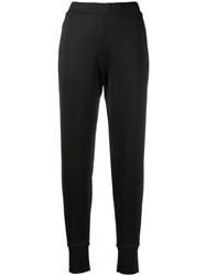 Calvin Klein Tapered Track Trousers Black