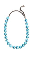 N 21 No. Strass Necklace Blue