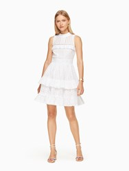 Kate Spade Evelina Dress Fresh White