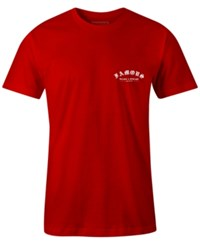 Famous Stars And Straps Men's Die To Ride Print T Shirt Red