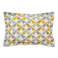 Scion Lintu Oxford Pillowcase Dandelion And Pebble