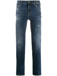 Dolce And Gabbana Distressed Skinny Jeans 60