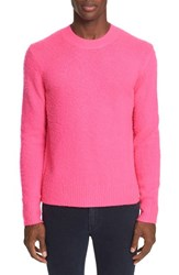 Acne Studios Men's 'Peele' Wool Cashmere Sweater Pink
