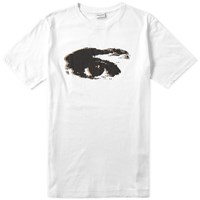Dries Van Noten Hyga Eye Print Tee White