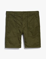 Engineered Garments Fatigue Short In Olive