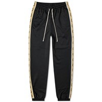 Gucci Technical Jersey Taped Logo Track Pant Black