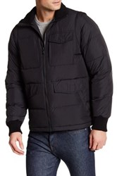 Victorinox Reinbach Dual Function Quilted Vest Jacket Black