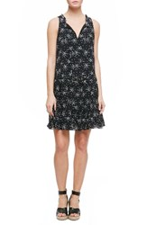 Sanctuary Women's Romy Print Flounce Hem Shift Dress