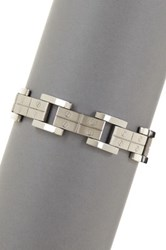 Rcg Square Screw Link Bracelet Beige
