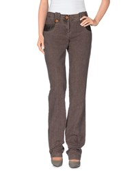 Compagnia Italiana Trousers Casual Trousers Women Dove Grey