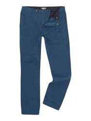 Linea Russell Cotton Chinos Petrol