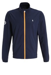 Polo Ralph Lauren Golf Tour Breaker Tracksuit Top English Navy Blue