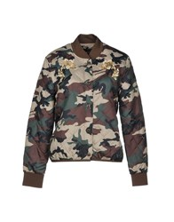 Obey Jackets Military Green