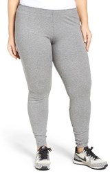 Nike Plus Size Women's Leggings Carbon Heather Black