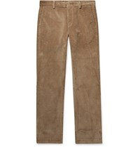 Norse Projects Albin Cotton Corduroy Trousers Brown