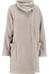 James Perse Fleece Coat Stone
