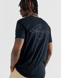 Quiksilver Vibed T Shirt In Black