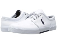 Polo Ralph Lauren Faxon Low White Sport Leather Men's Shoes