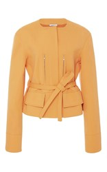 Protagonist Cropped Military Jacket Orange