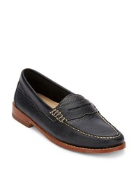 G.H. Bass Whitney Leather Penny Loafers Black