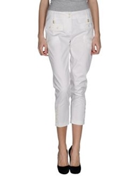 Angelo Marani Casual Pants White