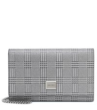 Jimmy Choo Lizzie Mini Shoulder Bag Silver