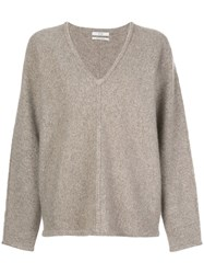 Co V Neck Cashmere Jumper 60