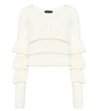 Tom Ford Wool Sweater White