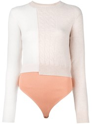 Maison Martin Margiela Sweater Long Sleeve Body Nude Neutrals