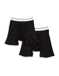 Jockey Two Pack Classic Pouch Boxer Briefs Black