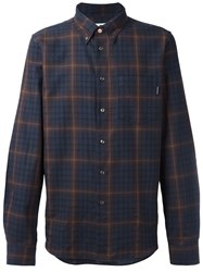 Paul Smith Ps By Plaid Shirt Blue