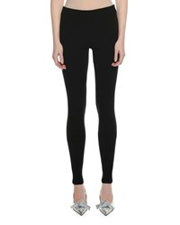 Tom Ford Stretch Cashmere Leggings Black