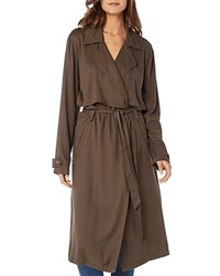 Michael Stars Long Trench Coat Loden